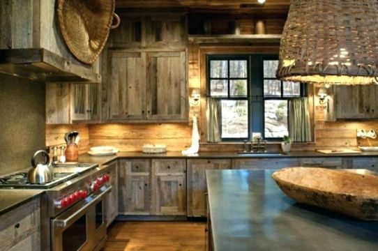 decoracion de cocinas rusticas de campo elegantes