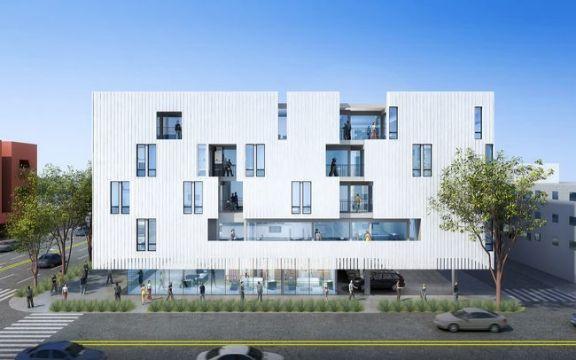 fachadas de casas de tres pisos departamentos