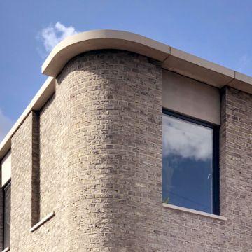 fachadas en esquinas de casas estetico diseño