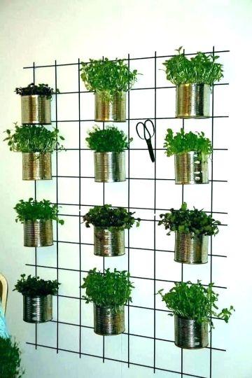 jarrones decorativos para jardin reciclados