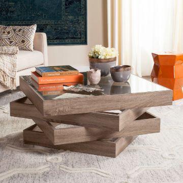 mesas de centro modernas con bloques