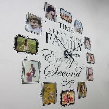 modelos de reloj de pared con fotos