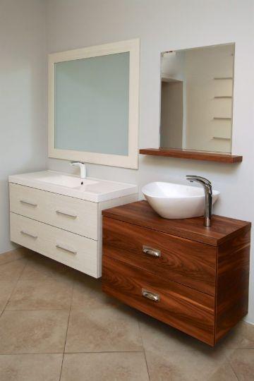 muebles de baño en melamina colores