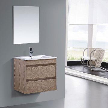 muebles de baño en melamina minimalistas