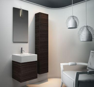 muebles de baño en melamina modernos