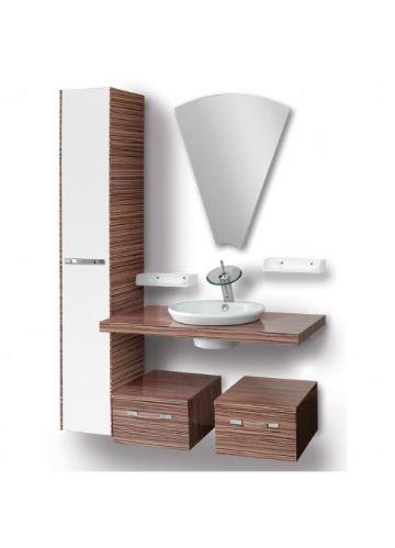 muebles para baño en madera modernos