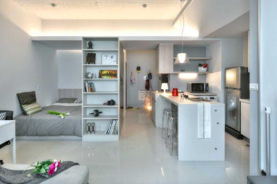 como organizar un apartamento pequeño moderno