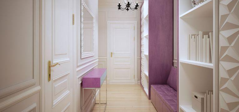 decoracion de corredores interiores luminosas