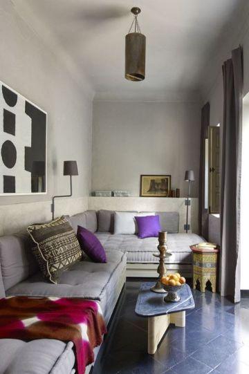diseño de salas pequeñas comodas
