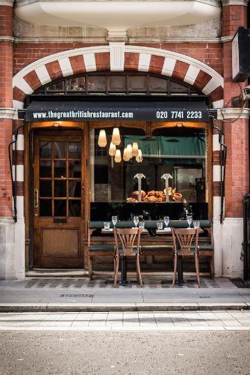 fachadas modernas para restaurantes clasicos