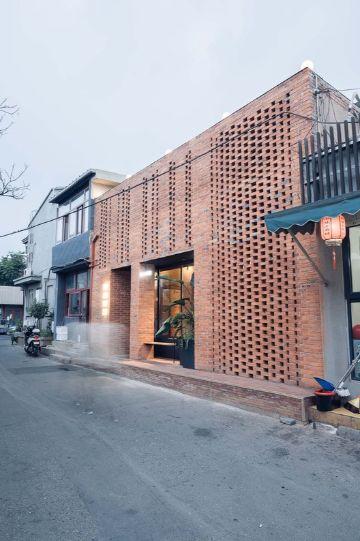 fachadas modernas para restaurantes minimalistas
