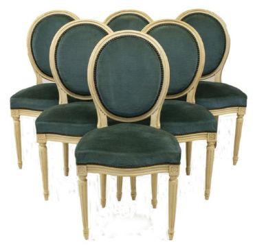 sillones estilo frances luis xvi sillas comedor