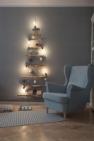 troncos secos para decoracion para navidad