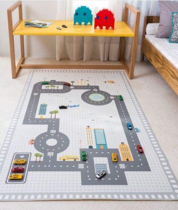 alfombras decoradas para niños ludicas