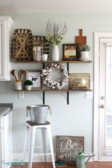 como decorar mi cocina rustica