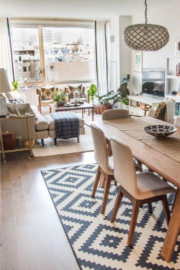 como decorar una sala comedor espacios pequeños