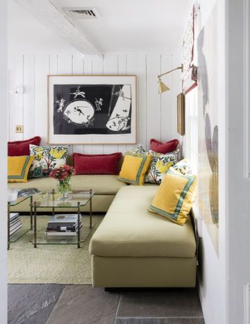 como organizar salas pequeñas tonos y muebles