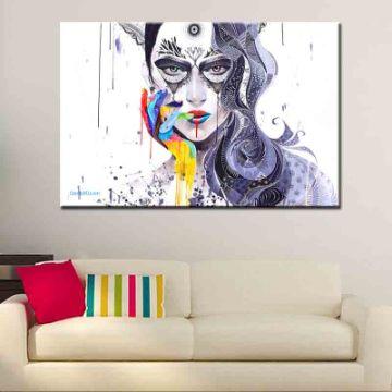 cuadros modernos para sala coloridos
