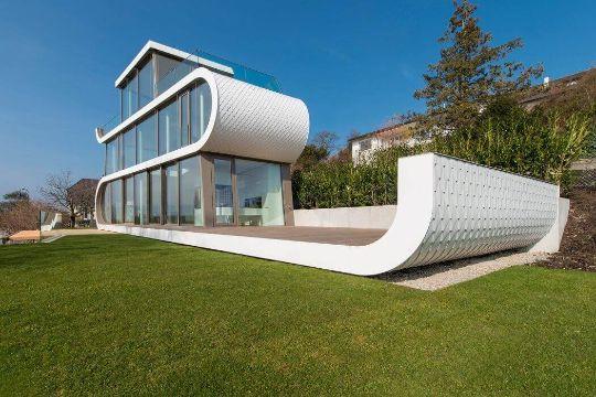 casas arquitectura moderna de dos pisos