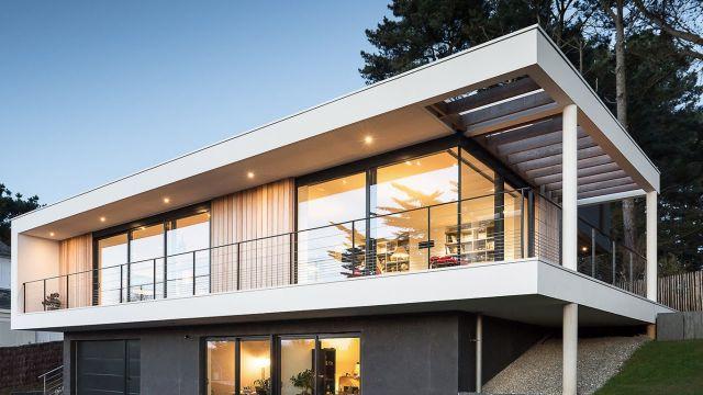casas arquitectura moderna texturas