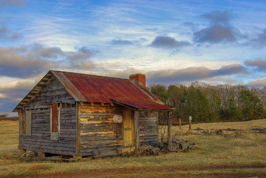 casas de campo de madera pequeñas