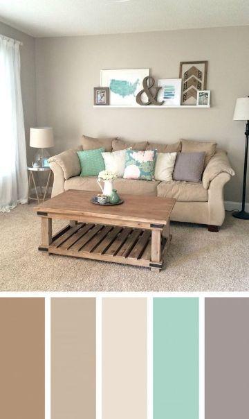 colores de salas pequeñas paleta de tonos