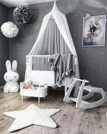 decoracion cuarto de bebe niña hermosas