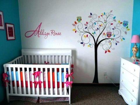 decoracion cuarto de bebe niña minimalistas