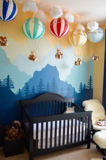 decoracion de cuartos para bebes escenografias