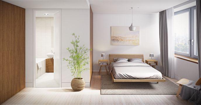 decoracion de dormitorios minimalistas adornos