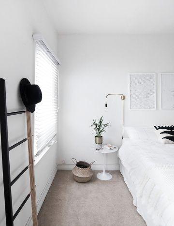 decoracion de dormitorios minimalistas organizadores