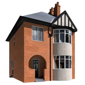 modelos de casas de 2 pisos clasicas