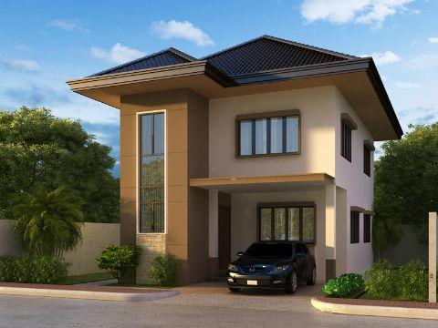 modelos de casas de 2 pisos con tejados