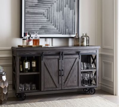 muebles para bar en casa adornos