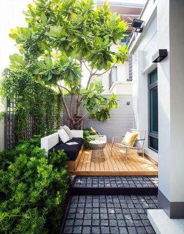 terrazas de diseño moderno pequeñas