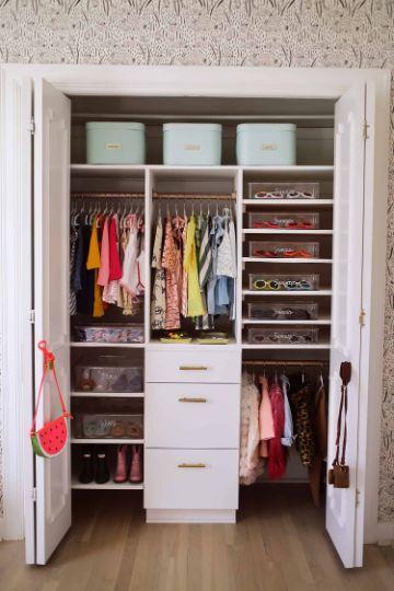 como organizar mi cuarto closets