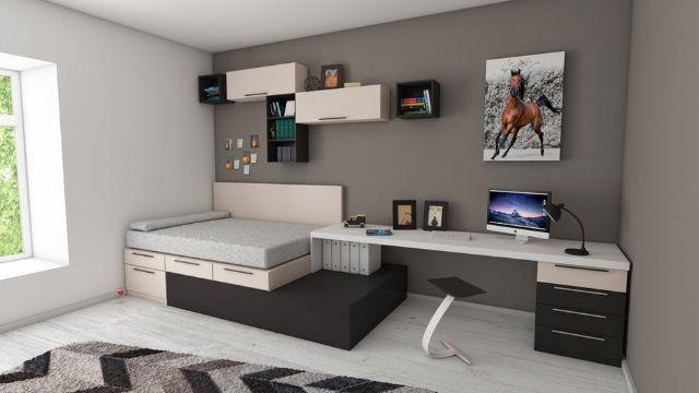como organizar mi cuarto muebles funcionales