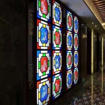cuadros vitrales decorativos bloques