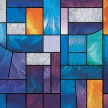 cuadros vitrales decorativos colorido