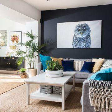 decoracion de salas pequeñas modernas paredes