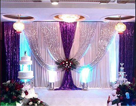decoracion de telas para eventos para bodas