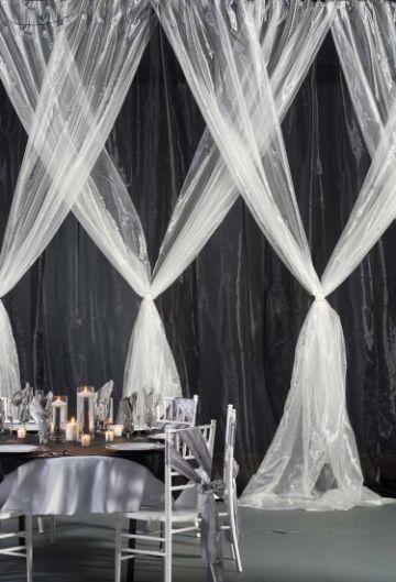 decoracion de telas para eventos sencillas
