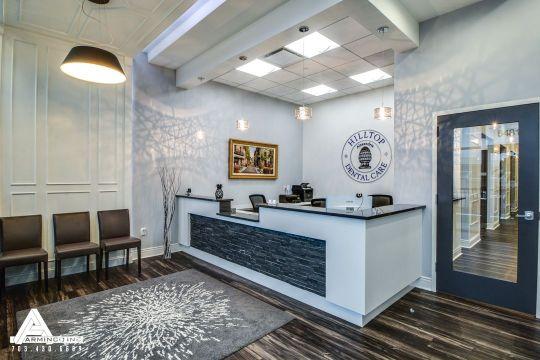 decoracion sala de espera consultorios