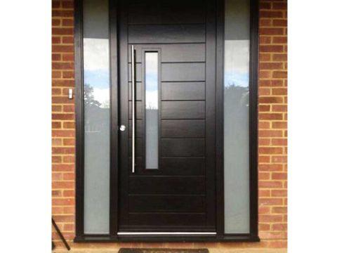 diseños de puertas metalicas modernas
