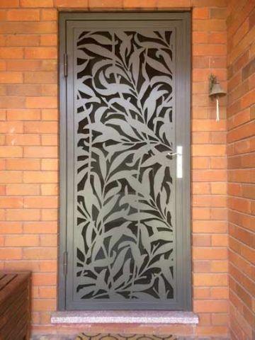 diseños de puertas metalicas originales