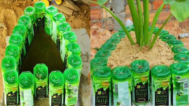 maceteros reciclados botellas ideas originales