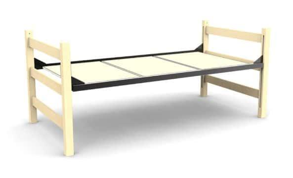 camas de tarimas de madera delgadas