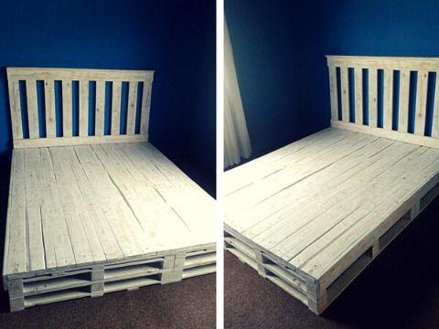 camas de tarimas de madera originales