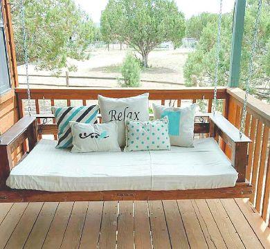 camas de tarimas de madera para exteriores