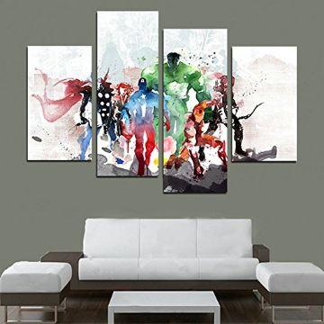 cuadros modernos para la sala en partes